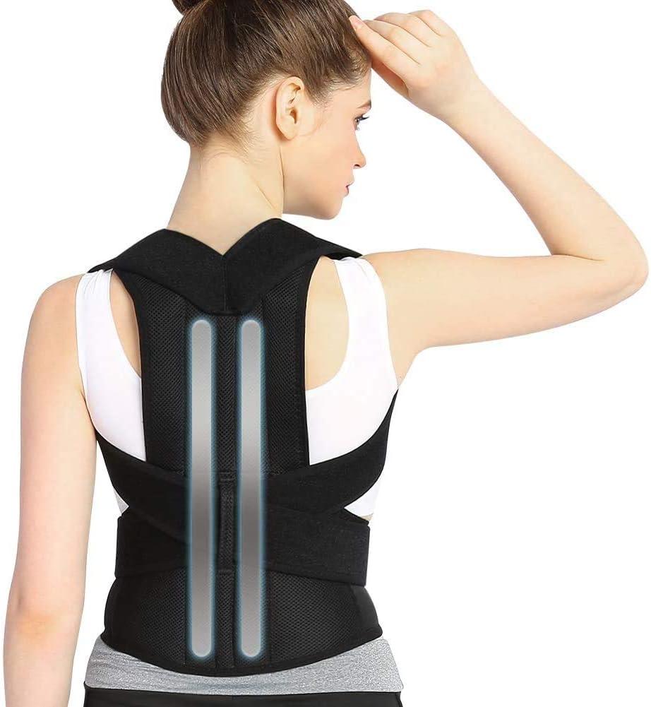 DOACT Corrector Postura Espalda, Faja Lumbar Mujer Hombre, Respaldo Lumbar Faja Espalda, Upright Espalda Para Corregir Postura Espalda, Correctores Enderezar Espalda Apoyo Lumbar Alivio Dolor (S)