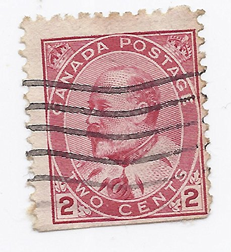 - 1903 Canada 2 Cent Postage Stamp King Edward VII