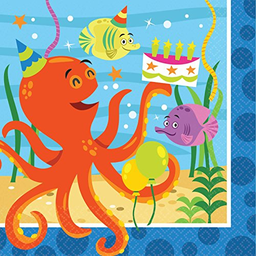 (Amscan Ocean Buddies Luncheon Napkins (16ct))