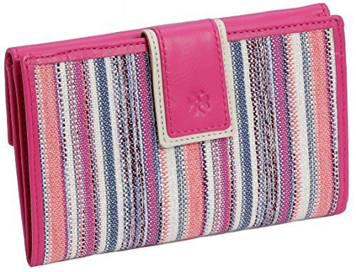Handmade in Spain Wallet for Women - Beautiful Colors Available (Fucsia Tones)