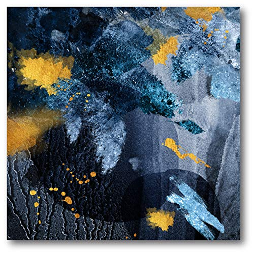 Courtside Market Navy Abstract 16