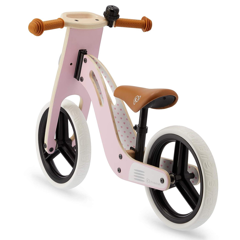 Bicicleta Sin Pedales Ajustable Miel Segura 2 A/ños y M/ás Kinderkraft UNIQ