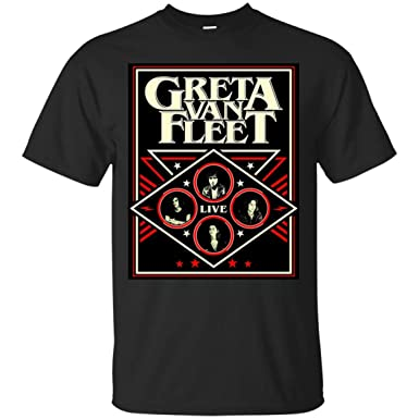 7a7809c1a0 Amazon.com  Greta Van Fleet Tour Shirt  Clothing