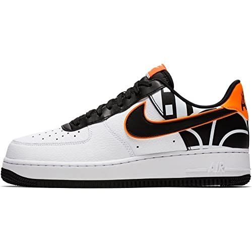 nike scarpe air force 1 07 lv8 bianco nero