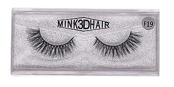 2581c846ba7 Gysad Natural Handmade Faux Mink False Eyelashes Soft Long Thick Black Fake  Eye Lash for Party