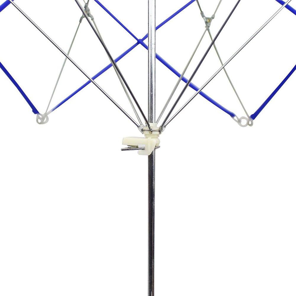 Violet Bobinoir Parapluie /écheveau en Plastique Quenouille Outil Tricot Tricotage Holder Pour Pelote de Laine