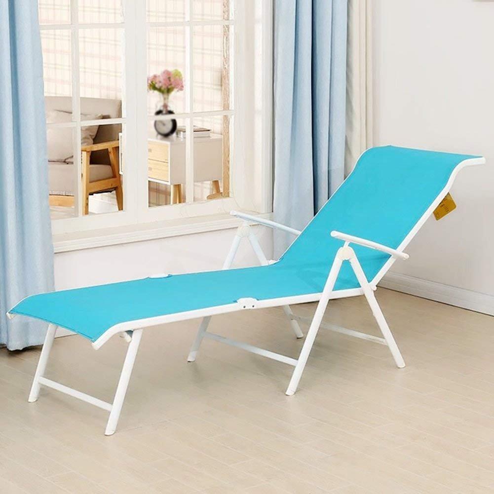 WJJH Sunlounger Deck ChairRelax Sillones y Camas Net Folding ...