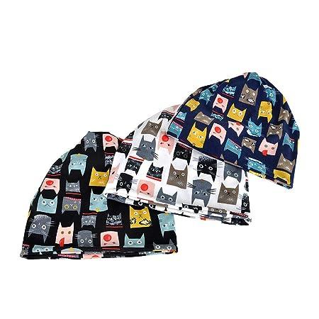 c97505305aa Amazon.com   Panarciss Beanie Skullies Hat Scarf Masks Warm Cap Women Men  Headwear Head Wrap Multi-Choice Multi-Color   Sports   Outdoors