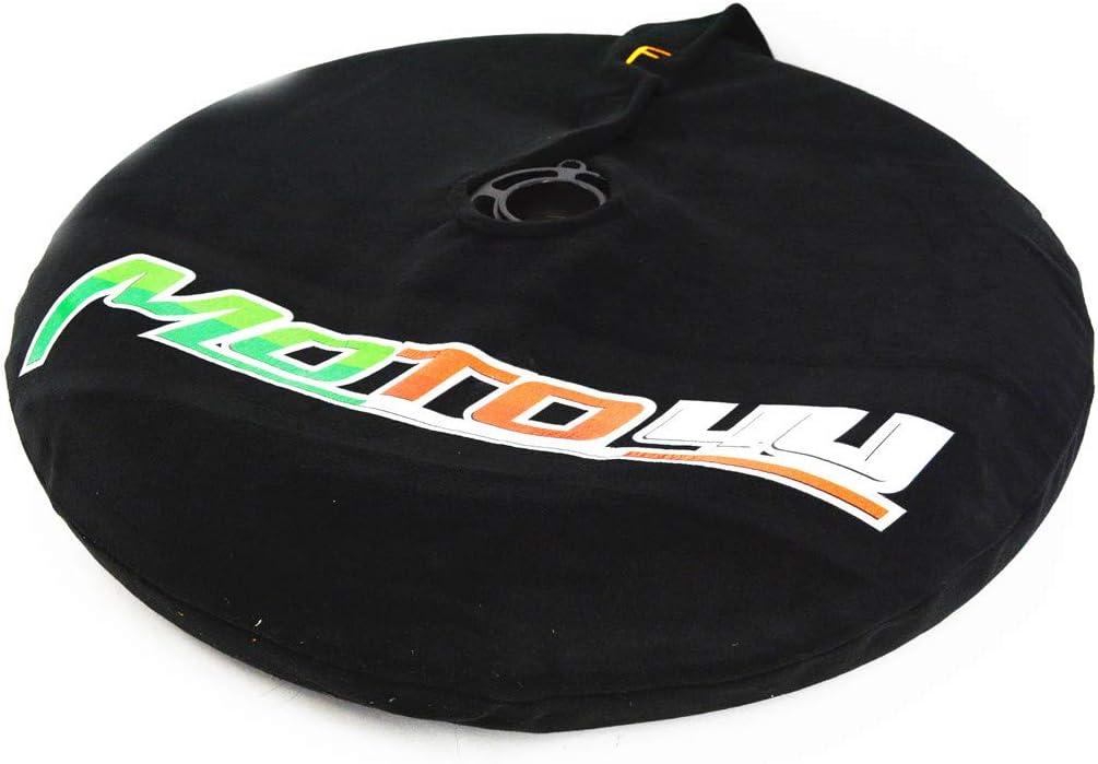 MOTO4U Front Rear 17inch Tire Warmmer Windstop Tire Warps Polar Fleece Covers Windbreak