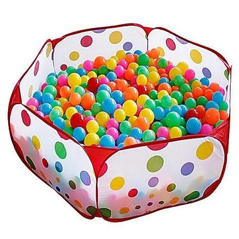 f61587aa3 corralitos para bebés parque infantil bolas bola de piscina de bolas niño  Piscina para niños plegable