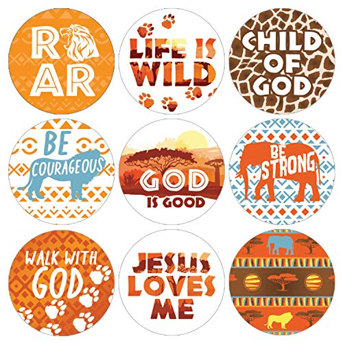 Safari Vacation Bible School Favor Stickers | 1,080 ct -