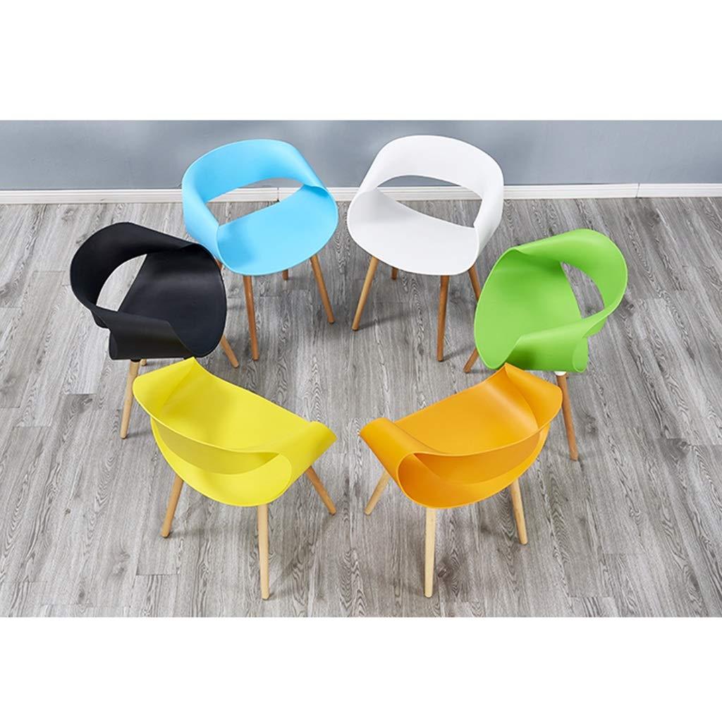 Mehrfarbig optional Stuhl Farbe : Blau moderner minimalistischer Empfang Lounge-R/ückenlehnenstuhl YXQ-* Lounge Chair Pers/önlichkeit Creative Lounge Chair