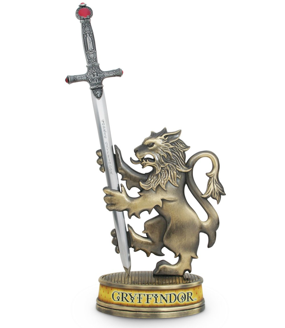 Harry Potter Gryffindor Sword Letter Opener with Stand The Noble Collection NN7855