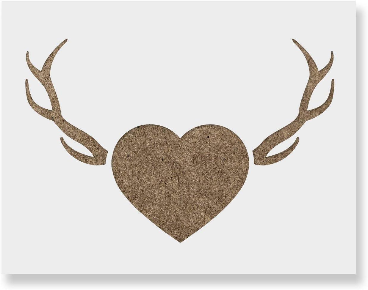 Reindeer Head Template Stencils Pinterest