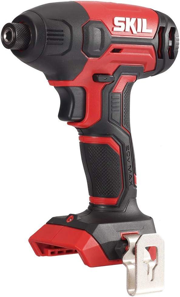 SKIL 20V 1/4 Inch Hex Cordless Impact Driver, Bare Tool - ID572701