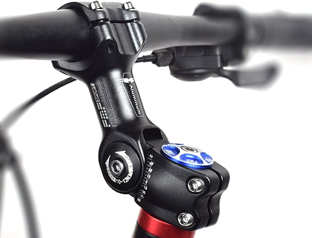 BESNIN Potencia Bicicleta Potencia MTB 0-60 Grados Ajustable ...