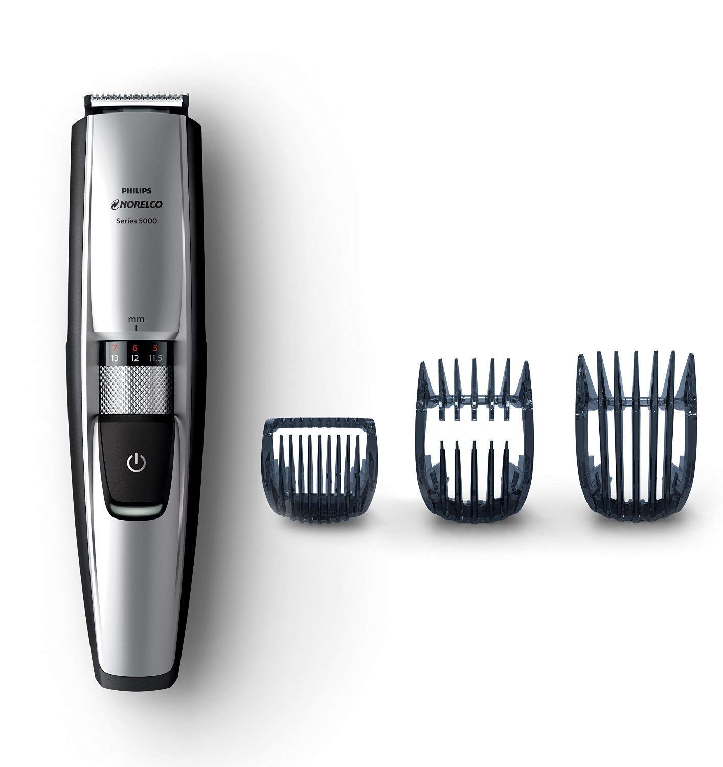 Norelco WASHABLE Beard and Head Trimmer with 17 Built-In Length Settings and Hair Clipping Combs