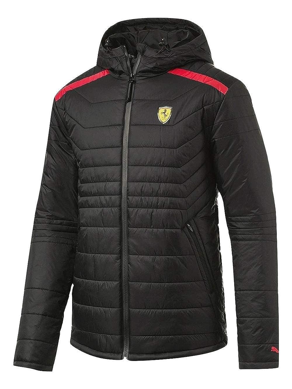 5259b7ff2adf9 Amazon.com: PUMA Men's Scuderia Ferrari Vent Padded Jacket Full Zip ...