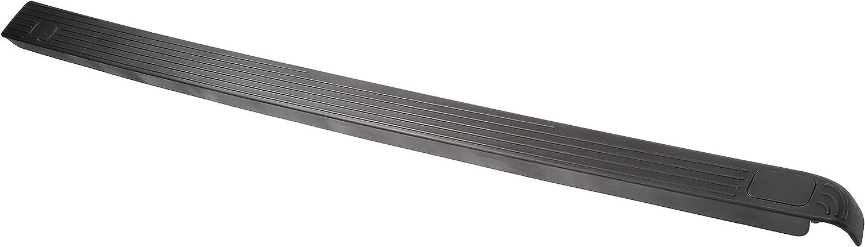 Black Dorman 926-935 Driver Side Truck Bed Side Rail Protector for Select Ford Models