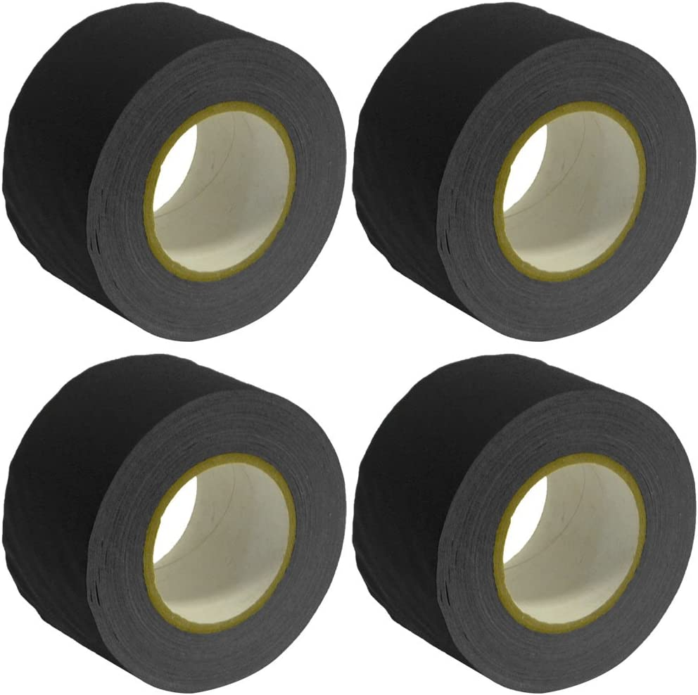 2 INCH X 60 YARDS YELLOW 4 PACK GAFFERS STAGE TAPE