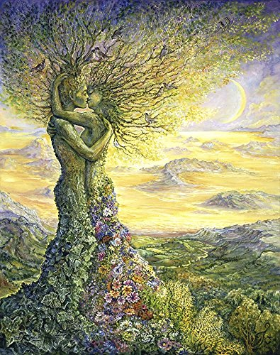 Nature's Embrace by Josephine Wall Art Print, 14 x 17 inches