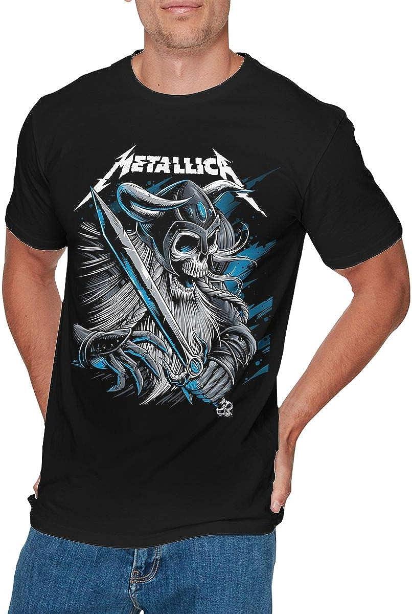 KYLE RICE - Camiseta para Hombre, diseño de Metallica, Color Negro - Negro - XXX-Large: Amazon.es: Ropa y accesorios