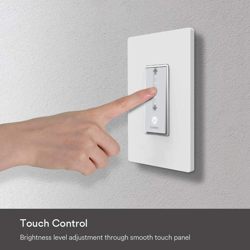 Lumary L-DS100 Dimmer Switch Touch Controls