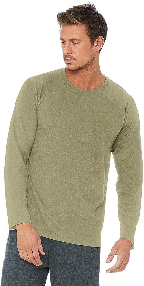 Amazon.com: Alo Yoga Triumph LS - Camiseta para hombre, S ...