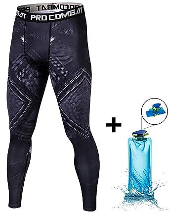 4fea8f80080bb 1Bar Dri Fit Base Layer Compression Pants Fashion Superhero Marvel DC BJJ  MMA Wrestling Workout Plus