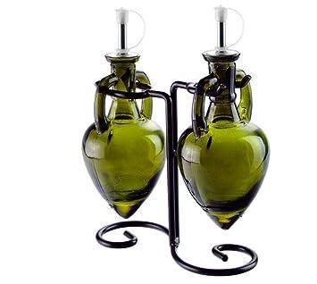 Dispensador de aceite y vinagre, botellas de aceite de oliva o dispensador de jabón Botella