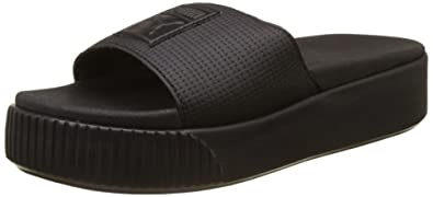 eb0e7f59f8 Amazon.com | PUMA Shoes Woman Slippers with Platform 366122 02 ...