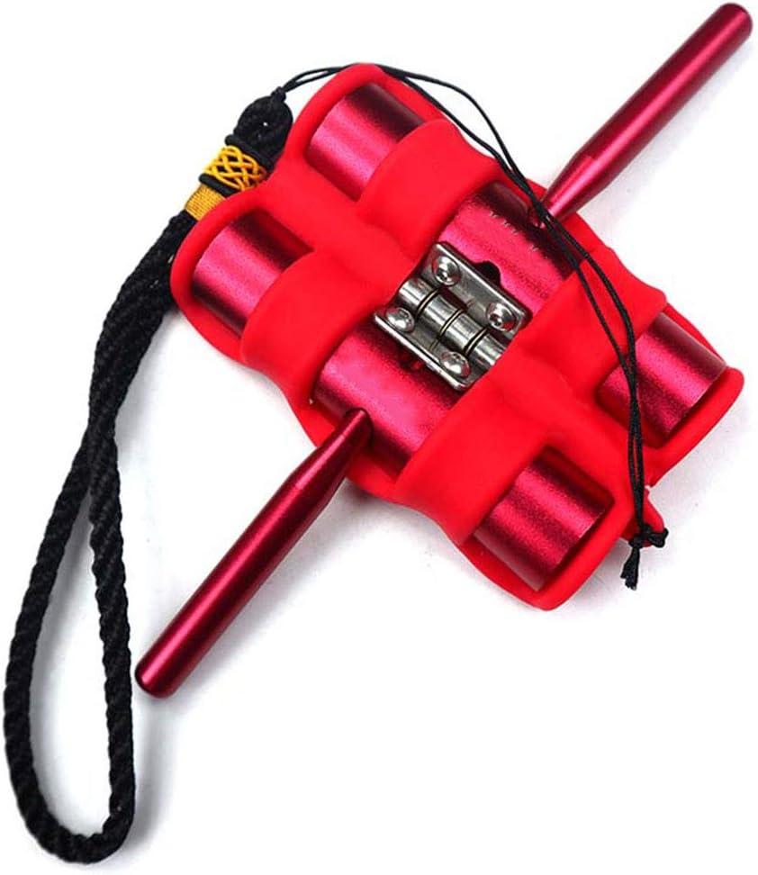 WSWJQY Tirador de Flecha Caucho y Metal Resistente al Desgaste Antideslizante Proceso de Pintura Toque cómodo Extraíble Recurvo Compuesto Flecha Tradicional Extractor de Tiro con Arco de Flecha