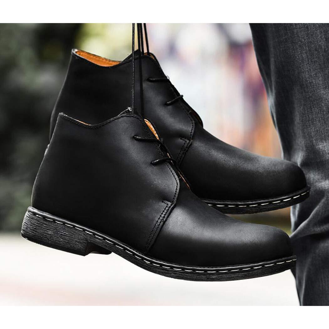 Zxcvb Arbeitsstiefel Männer, Soft Composite-Zehe, Sicherheit wasserdicht Lederschuhe für für für den Bau 4487da