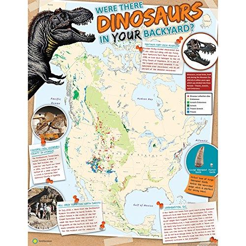 Eureka aula carteles, Smithsonian, medidas: 17' x 22'–Están Ahí dinosaurios en tu jardín?