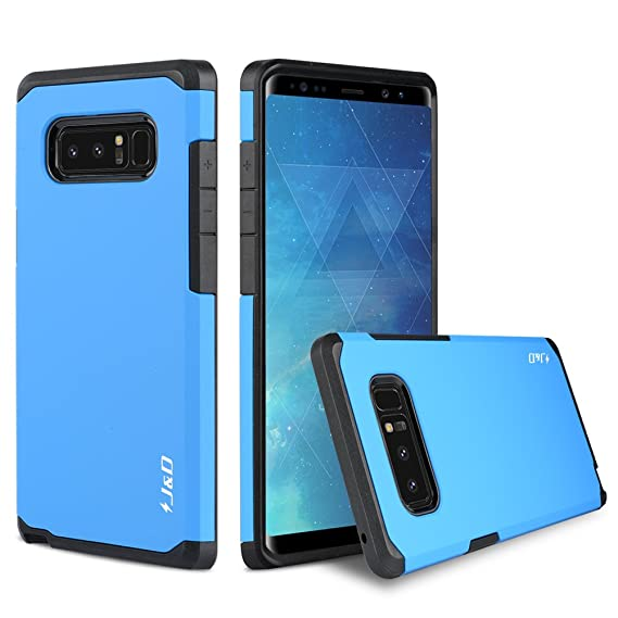 new style a3e8a 779e2 J&D Case Compatible for Galaxy Note 8 Case, Heavy Duty [Dual Layer] Hybrid  Shock Proof Protective Rugged Bumper Case for Samsung Galaxy Note 8 Case -  ...