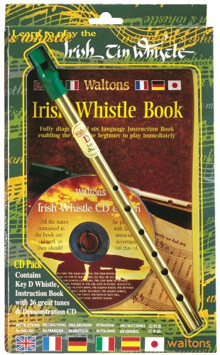 Waltons WM1514 Irish Tin Whistle/CD Pack