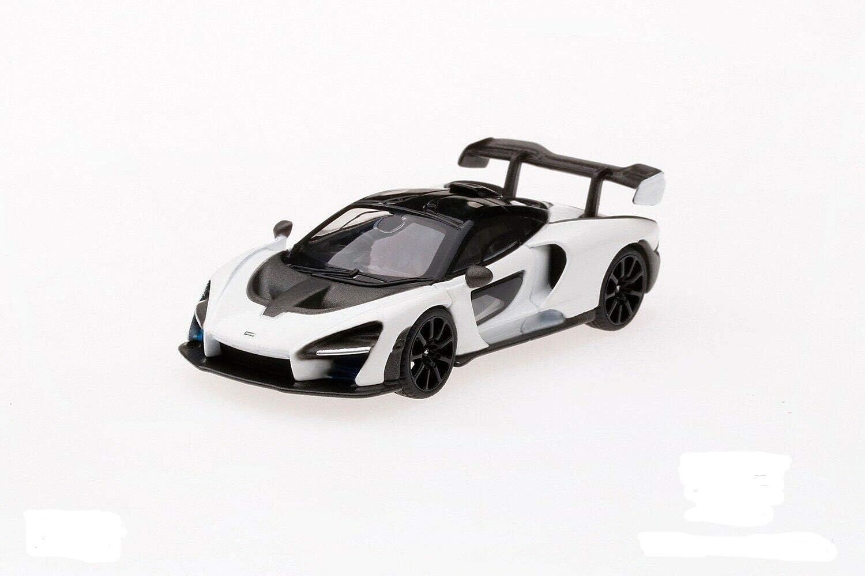 1//64 MINI GT McLaren Senna Victory Grey LHD New In Stock