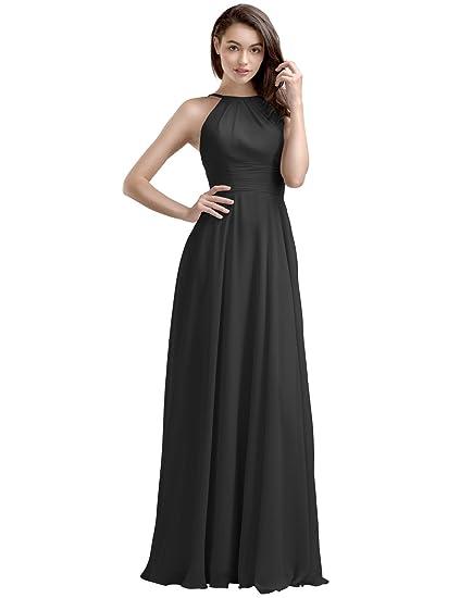 31b75528ba AW Bridal Women s Bridesmaid Dresses Long Evening Dresses Chiffon Formal  Dresses for Women