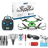 Kingtoys JJRC H31 Quadcopter RC Drone Etanche Headless 360 ° RC Quadcopter RTF avec Lumière LED (Vert)