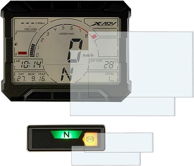 X Adv 2017 Displayschutzfolie Tachoschutzfolie 2 X Ultra Klar Auto