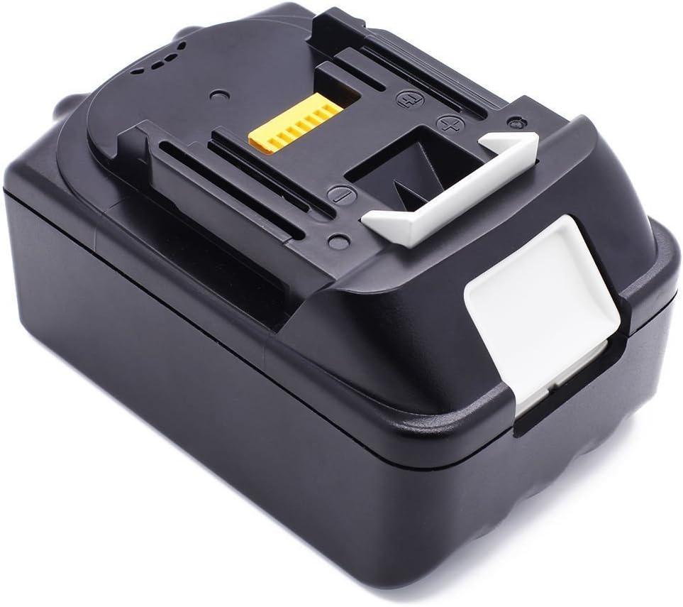 Batería de ion de litio de repuesto para radio Makita BMR100, BMR102, DMR100, DMR110, DMR101, DMR103B, BMR104, BMR103, DMR104, DMR105, DMR106, DMR102, DMR109 (18 V, 4 Ah) R108 Radio DMR107.