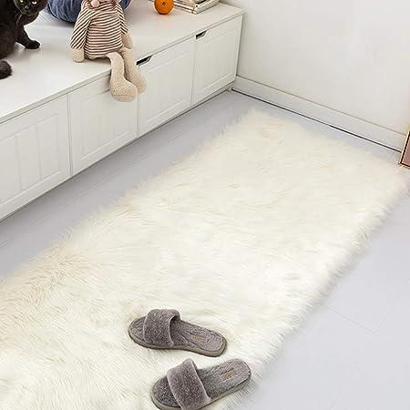 Nordic Warm Faux Fur Area Rug Long Plush Carpet Shaggy Area Rug 60 X 180CM New