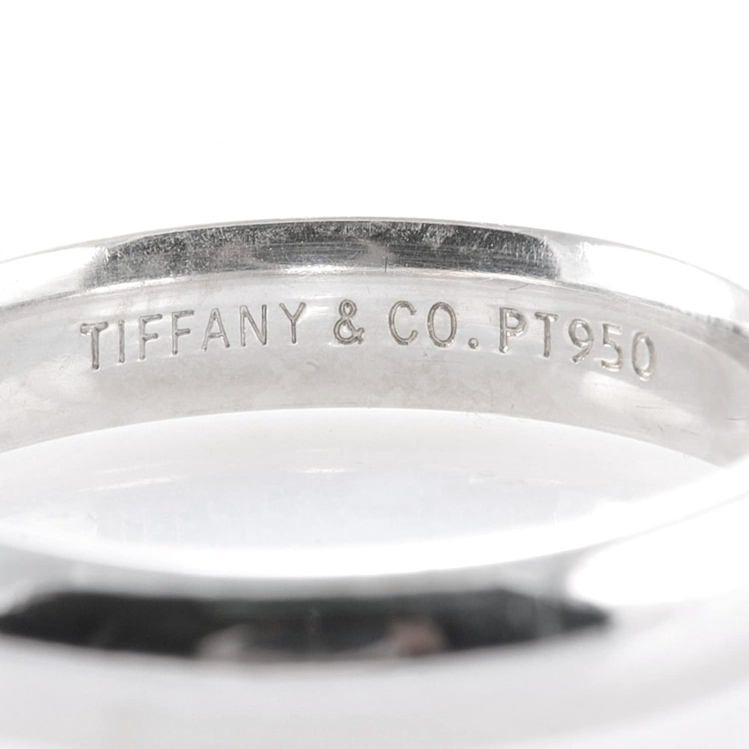 tiffany co lucida 4mm platinum wedding band ring