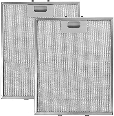 Spares2go - Filtro de grasa de aluminio para ventilador de campana ...