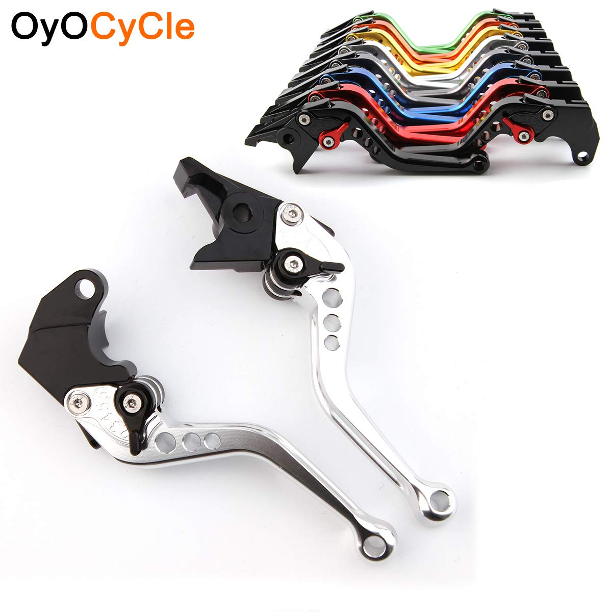 OyOCycle Short Brake Clutch Levers for Kawasaki Z1000SX/NINJA 1000/Tourer 2017-2018/Z1000/R 2017-2018/Z900RS