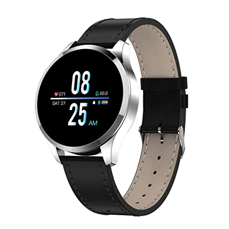 Amazon.com: NDGDA, Q9 Smartwatch 1.22inch Color Screen Women ...