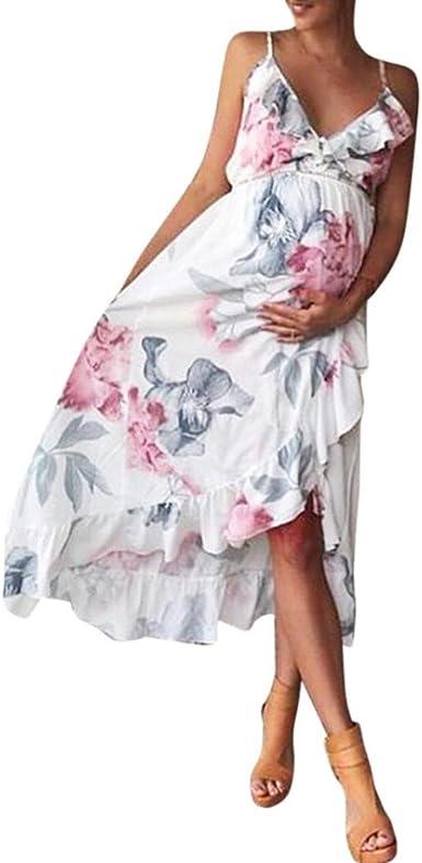 Cinnamou Vestido de Embarazadas para Ropa de Maternidad Moda ...