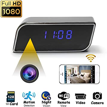 HD 1080P WIFI IP wireless camera hidden video motion detecting SPY CAM DVR