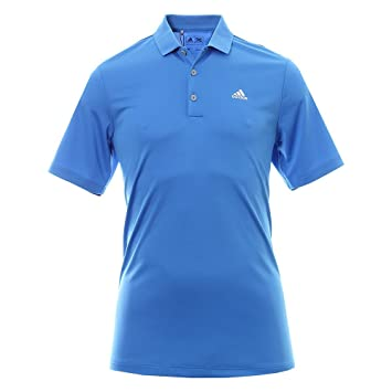 7b6fb7d52 adidas Golf 2017 Performance Polo - LC Mens Lightweight Jersey Golf Polo  Shirt Blast Blue Small
