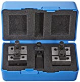 Fowler 52-475-025 Chrome Steel X-BLOX-JR Precision V-Block Set, 0.030'' - 1.285'' Set Capacity